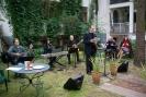 przy mikrofonie Piotr Cieński